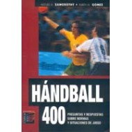 Hándball, 400 preguntas y respuestas sobre normas y situaciones de juego.